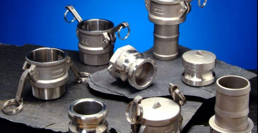 Camlocks en inoxidable y aluminio