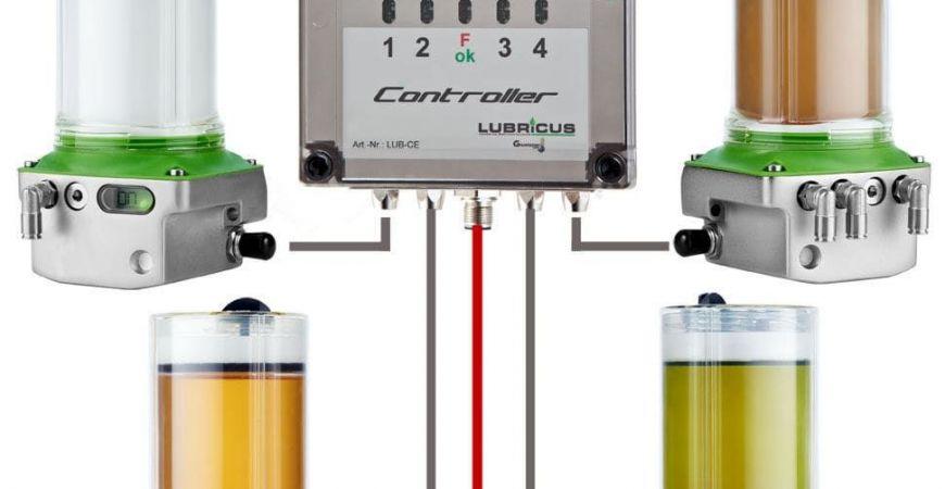Distribuidor oficial para toda España de Sistemas de Lubricación Gruetzner: Lubricus, Lub5,  Solube y G-Lube